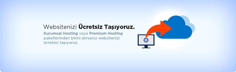 Ücretsiz Hosting Taşıma