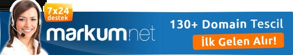 Markum.net Domain Tescil